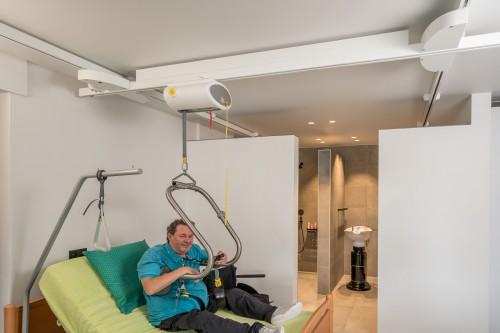 Handi-Move Elektrische Traversenschiene, Deckeninstallationen