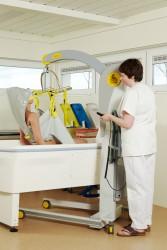 Mobile Lifter 2600 (Victor) , Badehebetuch , Das Badehebetuch mit Kopfstütze