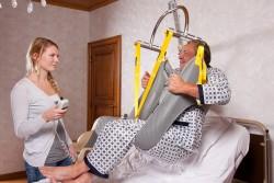 Standard-Einhängevorrichtung , Wandlifter , Toilettenhebetuch