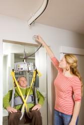 Umhänge-Deckenlifter , Toilettenhebetuch , Umhänge-Deckenlifter - Swingsystem