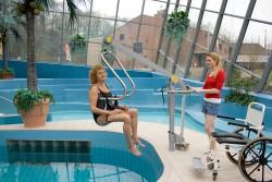 Der Schwimmbadlifter , Handi-Move Hebebügel®